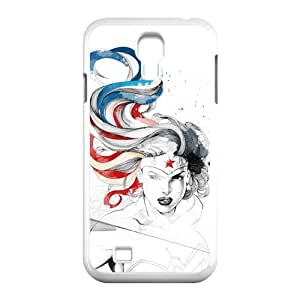 Wonder Woman Fighting Star Samsung Galaxy S4 I9500 Perfect Color Match Cover Case for Fans by runtopwell