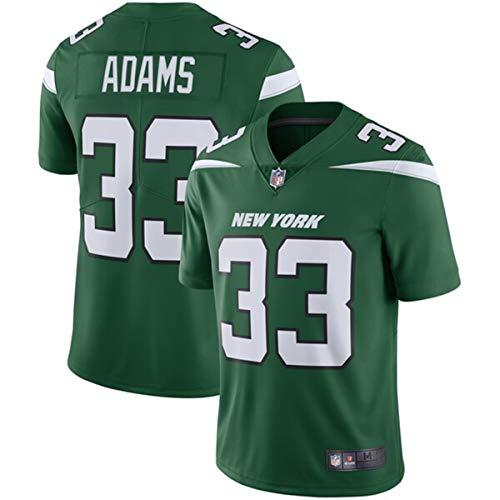 Men's #33 Jamal Adams New York Jets Game Jersey Green