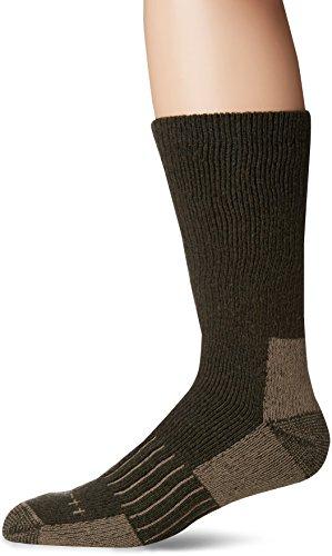 Carhartt Men's Full Cushion Recycled Wool Crew Socks,  Moss, Shoe: 6-12