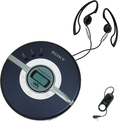 Portable CD Player (Blue) ()