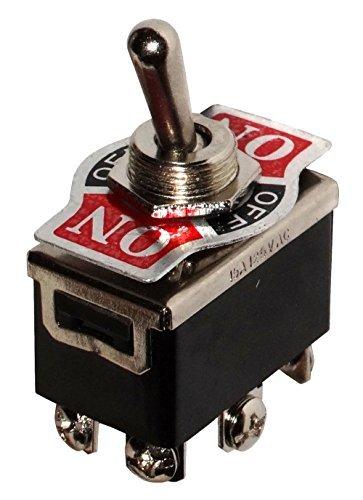 AERZETIX - Interrupteur commutateur à levier DP3T ON-OFF-ON 10A/250V 3 positions product image