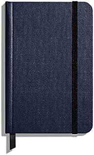 product image for Shinola Journal, HardLinen, Ruled, Navy (3.75x5.5)