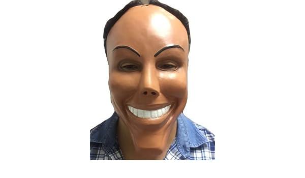 LA PURGA Máscara Deluxe Látex Disfraz De Halloween Máscaras Ethan Hawke: Amazon.es: Juguetes y juegos