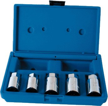 Assenmacher 5 Piece Fractional Stud Remover / Installer Set - ASS202 ()