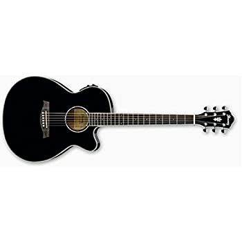 Amazon Com Ibanez Aeg10ii Black Musical Instruments