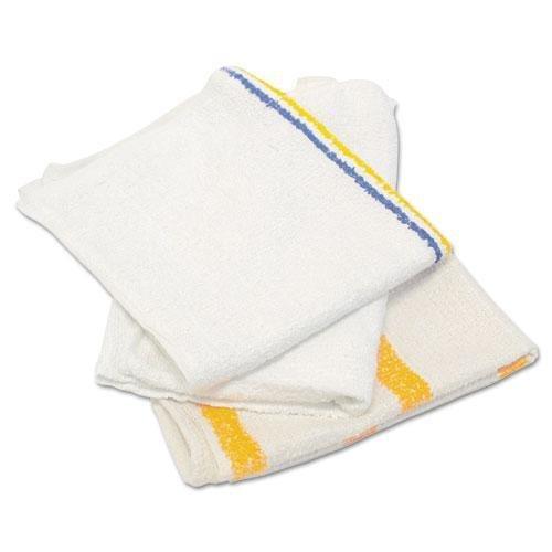 HOSPECO 53425BP Counter Cloth/Bar Mop, Value Choice, White, 25 Pounds/Bag by Hospeco