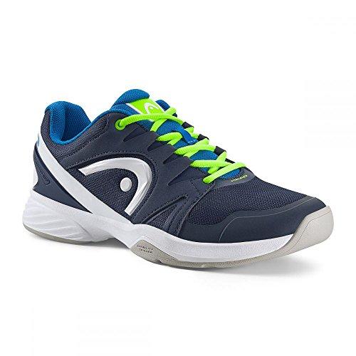 Head Nitro Carpet Junior Tennisschuh blau/grün