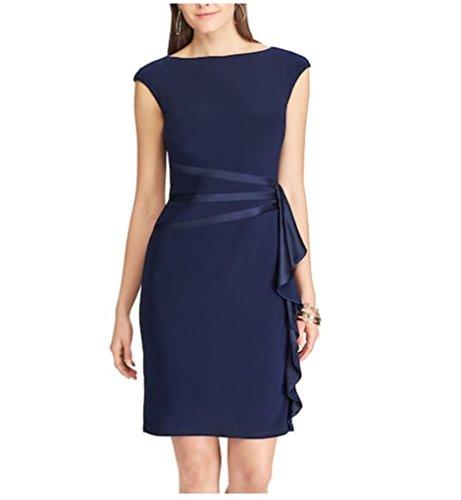 Chaps Women's Ruffle Sheath Dress (Chaps Womens Dress)