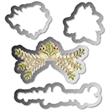 Sizzix Framelits Die and Embossing Folder Christmas Ornament Set (3 Pack)