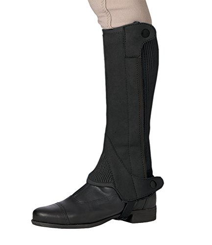 Elite Half Chaps - Ovation Child Elite Amara Half Chap (Dark Brown, 1214)