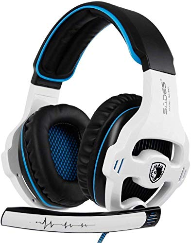 Xbox One Gaming Headset Stereo Over Ear Gaming Headset with Mic Noise Cancelling Volume Control for Xbox One/PC/Mac/PS4…