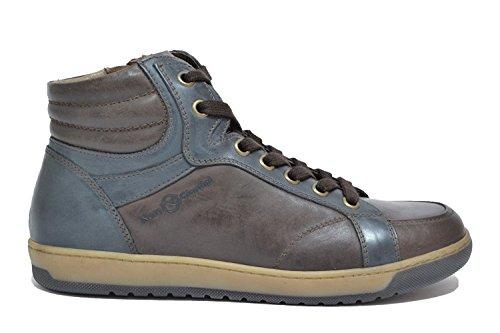Nero Giardini Sneakers scarpe uomo caffè A604371U CAFFE (Numero 45)