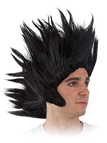 DISBACANAL Peluca Goku Pinchos – Negro