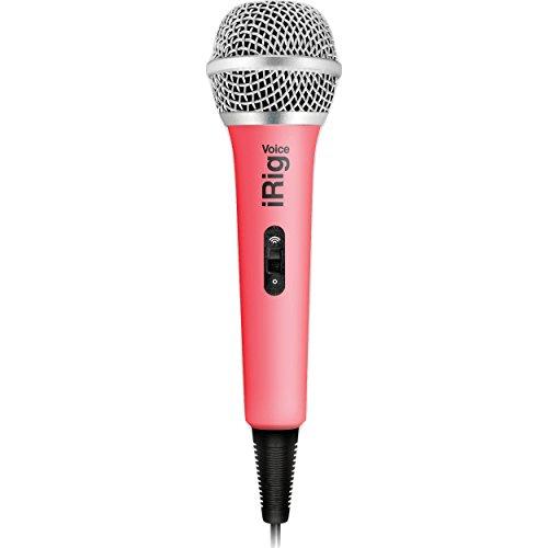 Ik Multimedia iRig Voice (pink) karaoke microphone for sm...