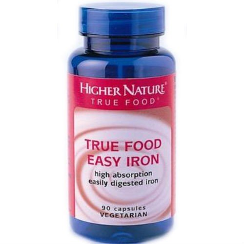 (12 PACK) - Higher Nature - True Food Easy Iron | 90's | 12 PACK BUNDLE by Higher Nature