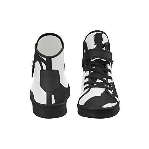 Interestprint Licorne Chaussures En Tissu Chaussures De Mode Pour Les Femmes Licorne 1
