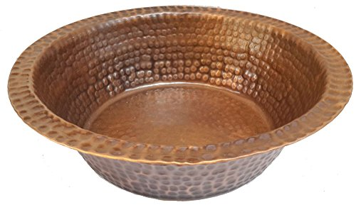 Egypt gift shops Antique Patina Foot Massage Bath Bucket Pedicure Spa Styling Salon Pedicure Bowl by Egypt Gift Shops