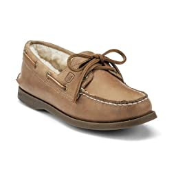 Sperry Women\'s A/O 2 Eye, Sahara (Shearling)-8