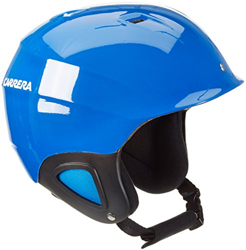 Carrera Kinder Kinderskihelm CJ 1, Blau/Electric/Shiny, 53-57, E00393BW55357