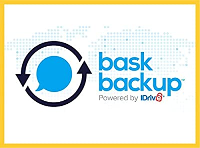 Bask Backup - powered by iDrive- Unlimited cloud storage + Professional Download-1YR