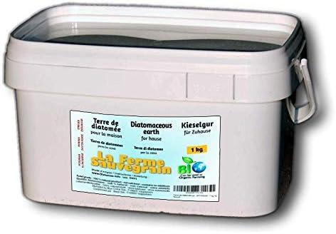 Tierra de diatomeas alimentaria contra chinches, hormigas, cucarachas y arañas - tratamiento natural - 1kg