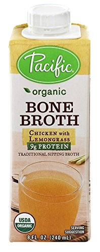 Pacific Natural Foods - Organic Bone Broth Chicken with Lemongrass - 8 oz(pack of 2) by PACIFIC FOODS