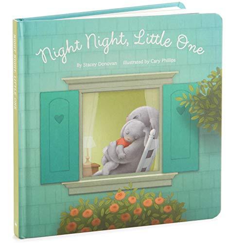 Hallmark Night Night, Little One Bunny Board Book Kids Books Juvenile Fiction