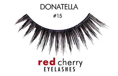Red Cherry False Eyelashes #15 (Pack of 3)