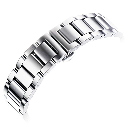 Nogis Stainless Polished Watchband Zenwatch