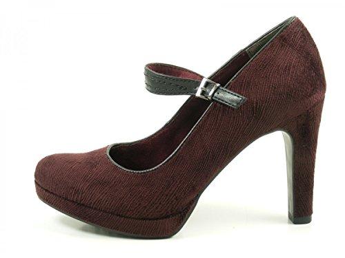 Tamaris 1-24408-29 zapatos de tacón alto para mujer Rot