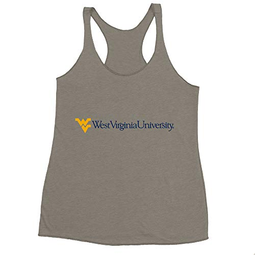 Universe Tri Blend T-shirt - Official NCAA West Virginia University Mountaineers PPWV07, 6733, V_GRY, 2XL
