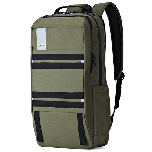 "Lowepro Urbex BP 24L Backpack for Up to 15"" Laptop and 10"" Tablet, Dark Green"