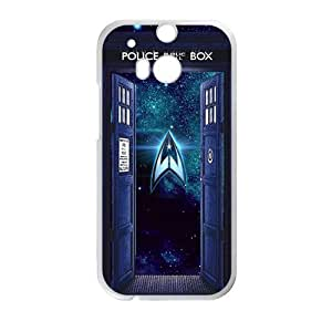 Happy Stars Trek Cell Phone Case for HTC One M8