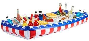 OTC - Patriotic Inflatable Buffet Cooler for Indoor/Outdoor