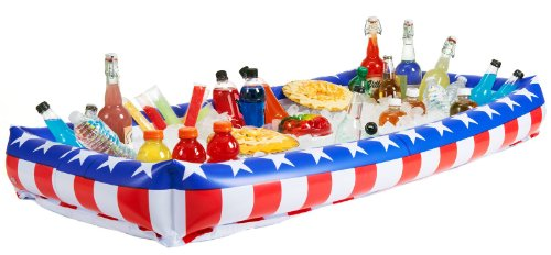Best Review Of OTC - Patriotic Inflatable Buffet Cooler for Indoor/Outdoor