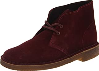 Clarks Men's Desert Boot,Wine,10.5 M US (B00AYCLDC8) | Amazon price tracker / tracking, Amazon price history charts, Amazon price watches, Amazon price drop alerts