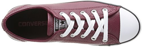 Leath mixte Ox Converse adulte Rouge Baskets mode Bordeaux Dainty Uwf5xq1H