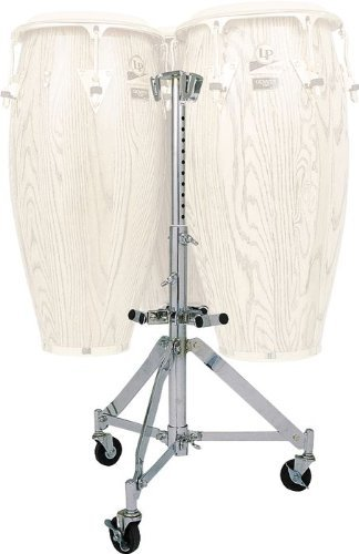 Latin Percussion LP291 LP Triple Conga Stand, Chrome by Latin Percussion