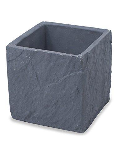 Dahlia Cement Cube Handmade Concrete Succulent Planter / Plant Pot / Flower Pot / Bonsai Pot (Cement Planter Pot)