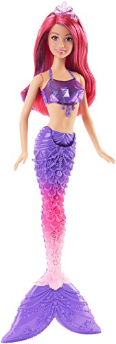 Barbie Mermaid Doll, Gem Fashion (Toy Mermaid Bath)