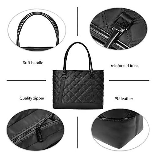 15.6 Inch Women Nylon Briefcase Casual Handbag // Laptop Shoulder Bags Tote Bag