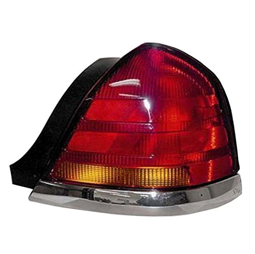 NEW RIGHT PASSENGER SIDE TAIL LIGHT FITS FORD CROWN VICTORIA LX 1998-2005 3W7Z13404CA 3W7Z-13404-CA FO2801150 (Ford Crown Victoria Lx Drivers)