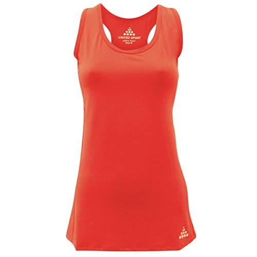 United Sport - Camiseta sin mangas - para mujer Coral