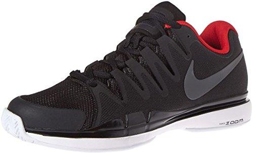 Men's Nike Zoom Vapor 9.5 Tour Tennis Shoes 8.5 D(M) US Black/AnthraciteWhite/UniversityRed