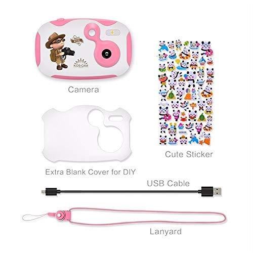 Sdoveb Children Sport Camera 1.7 Inch Portable Kids Camera Video Recorder DV DVR Cam Camcorder Camera (Pink) by Sdoveb (Image #9)