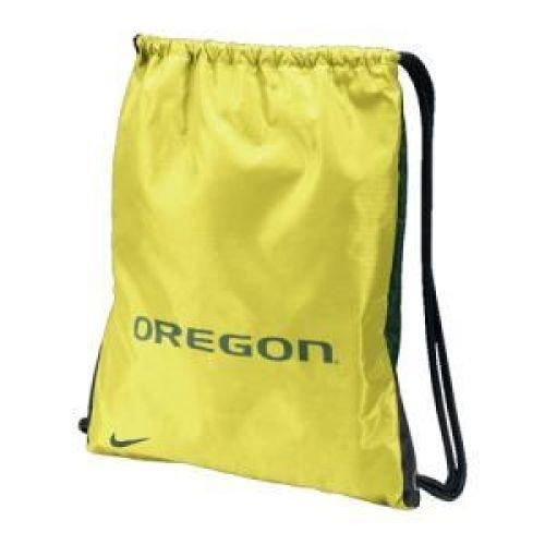 Nike Oregon Ducks Yellow-Green Home & Away Gym Bag