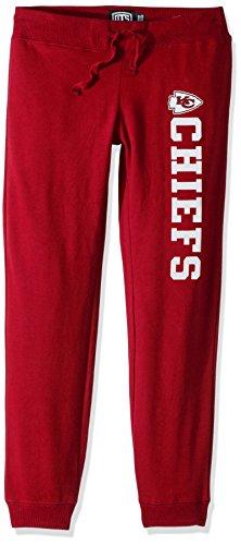 NFL Kansas City Chiefs Women's Ots Fleece Pants, Small, Red