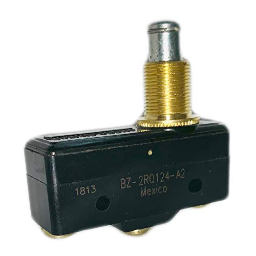 BZ-2RQ124-A2 Switch Snap Action N.O./N.C. SPDT High Overtravel Plunger Screw 16A 480VAC 250VDC.