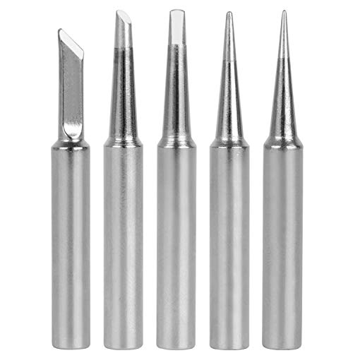 (GeToo ST Series Soldering Tip for Weller WLC100, WP25, WP30, SP40L,SP40N and WP35 Irons Tips, Set of 5)