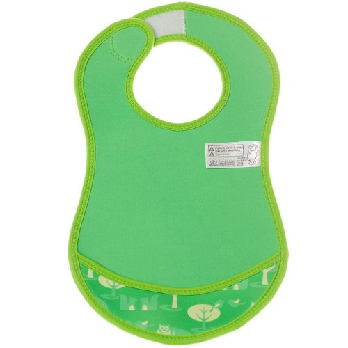 Bibetta Ultrabib Baby Bib (Green Owl) by BabyCenter (Image #19)